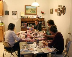 ©2015, Mary Ellen Merrigan, Craft Day with sisters