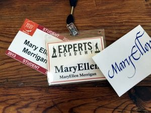name MaryEllen, name tag jewelry for Mary Ellen Merrigan