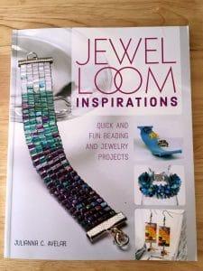 Artist Julianna C. Avelar wrote the book Jewel Loom Inspirations.