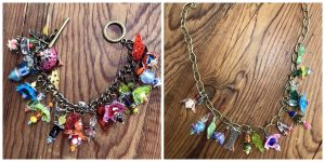 These shrinkets were colored by Ann for Mary Ellen Beads Albuquerque.