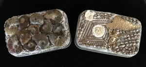 These are boxes #30 and #31 and will be part of Holiday Wonders Jewelry Show by Mary Ellen Beads Albuquerque.