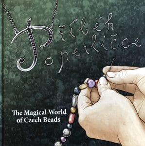 Mary Ellen Beads of Albuquerque discovered this out-of-print book, The Magical World of Czech Beads at the Tucson Gem Show. Beaded beads can include Czech glass beads.